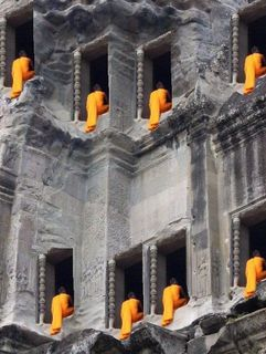 The storming of Angkor